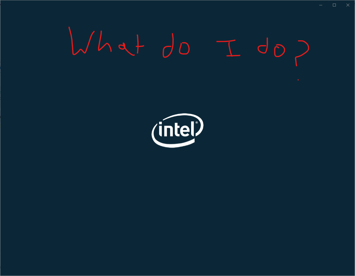 When Intel Graphics Command Center launches, it is stuck on loading a74caefc-173d-4da8-83db-6fec9806e1cd?upload=true.png