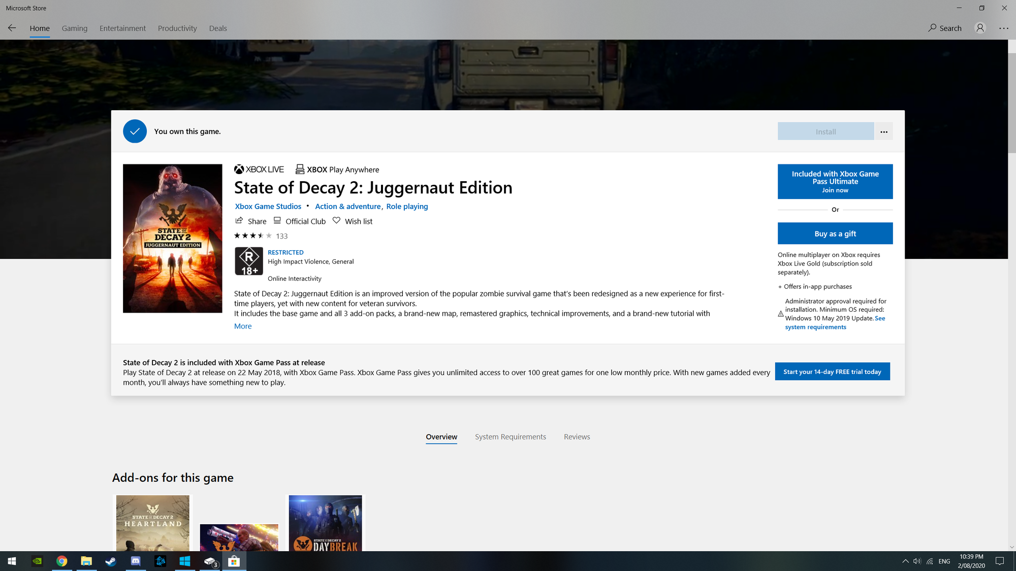 can't install state of decay 2 juggernaut edition a7e49509-8926-418c-a605-9b7ae1aad1b9?upload=true.png