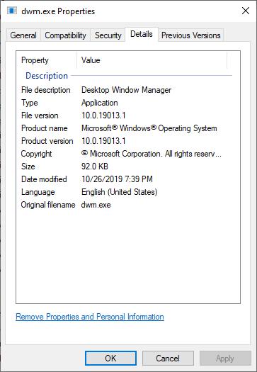 Windows 10 version 1903 dwm.exe high CPU issue a9ce8019-4422-4a9b-8523-b4750101a88e?upload=true.png