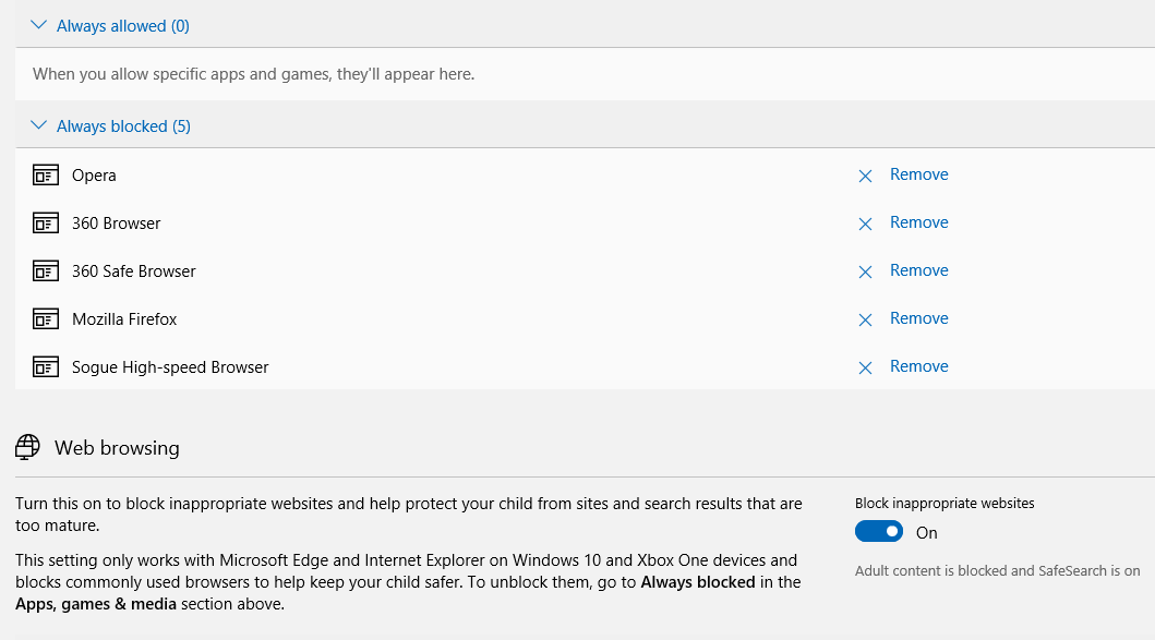 Child account cannot access Chrome after it is unblocked aad49df2-e6f1-463a-a3f5-0805b850a070?upload=true.png