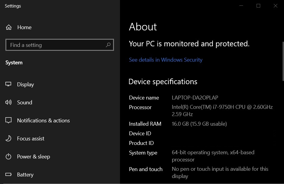 Windows 10 hides one Control Panel feature, but you can still access it About-Settings.jpg
