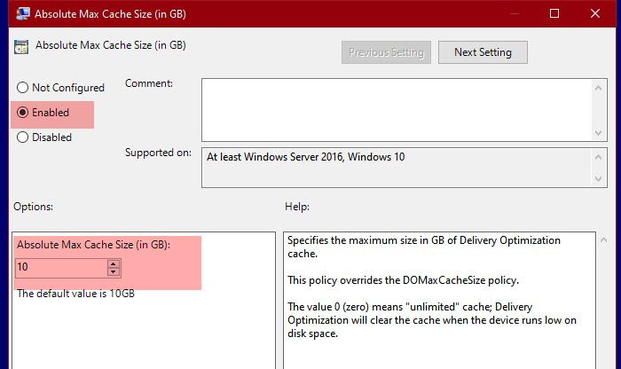 Change Delivery Optimization Max Cache Size for Updates in Windows 10 Absolute-Max-Cache-Size.jpg