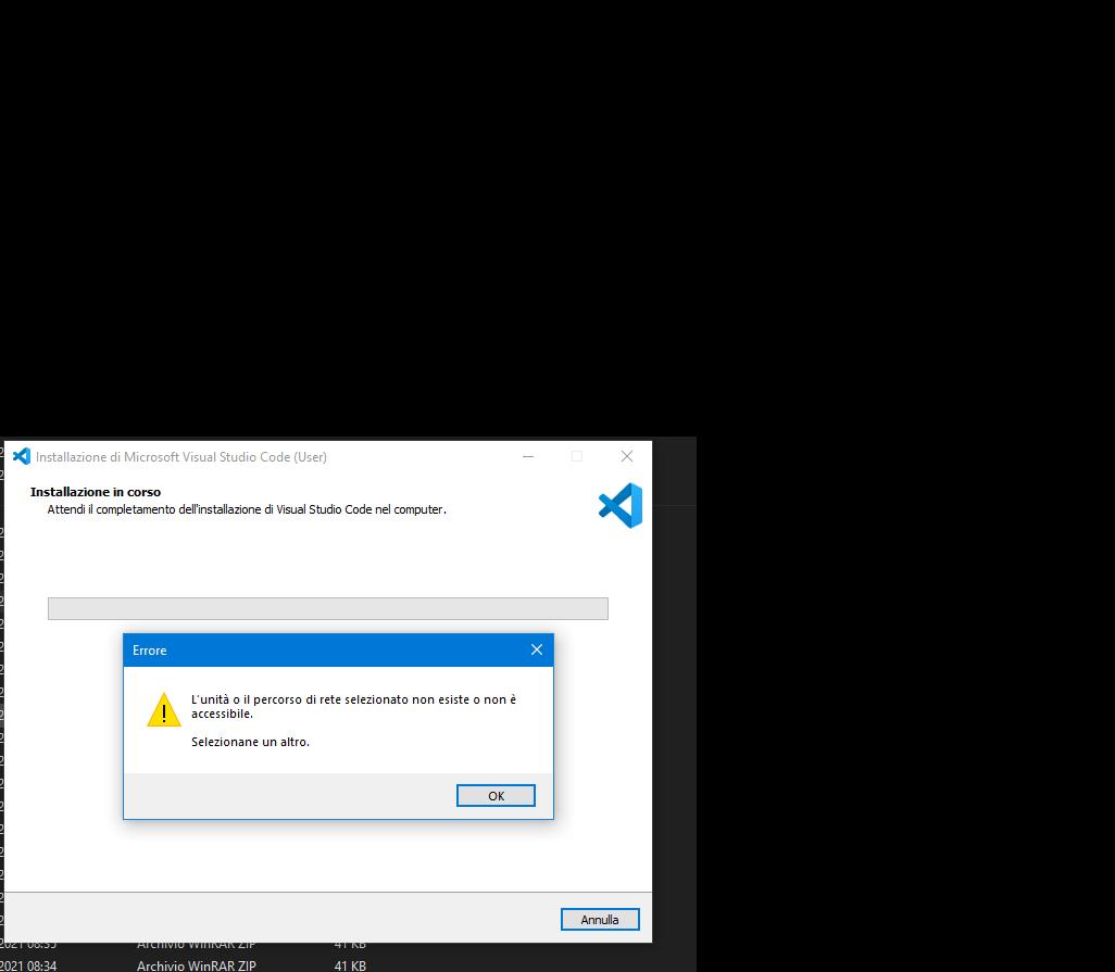 Visual studio code error while installing ac77ecbe-b044-43ee-a8f4-80a5c3b21f7e?upload=true.png