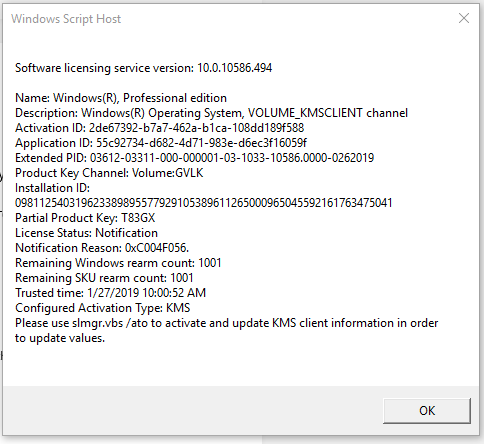 Please help me resolve error code 0xC004F074 ac8d9bb5-d82d-41b6-8994-dd28004cc2e6?upload=true.png