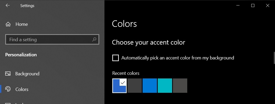 List of new features in Windows 10 October 2020 Update Accent-colours.jpg