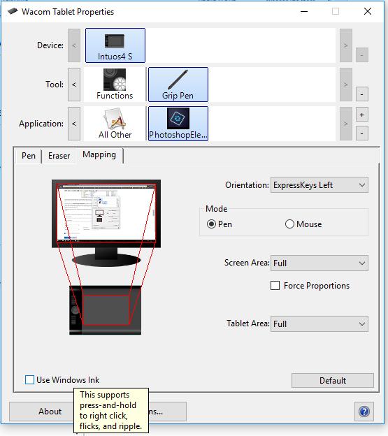 Photoshop Wacom Pen lag with windows 10
