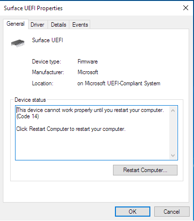 How do I disable UEFI on Microsoft Surface Pro 4 ? aDL2g.png