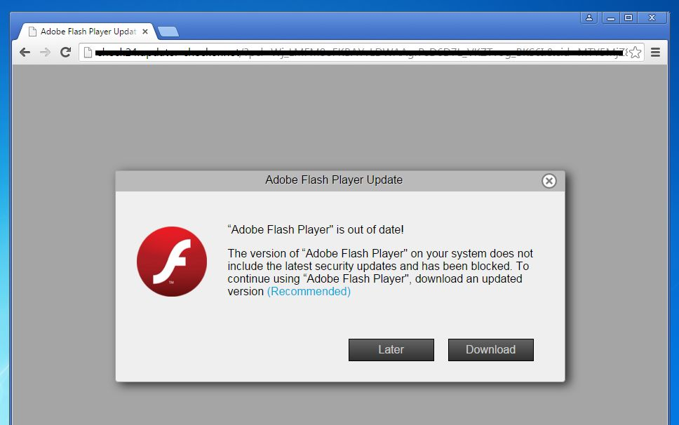 Fake Adobe Flash Player popup Installer and Redirect Virus Adobe-Flash-Player-is-out-of-date.jpg