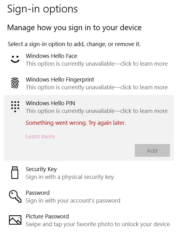 Windows Hello sign in options stopped working ae6e9ced-1909-45b5-8bde-8c72d22a6bf5?upload=true.png