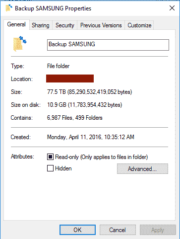 Incorrect folder size reported in windows 10 pro 1809 October update af23da0e-3eae-44f9-bc8a-687bdaff2ac5.png