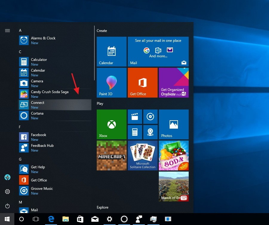 Highlights all-apps-reveal-highlight-redstone-4-windows10.jpg