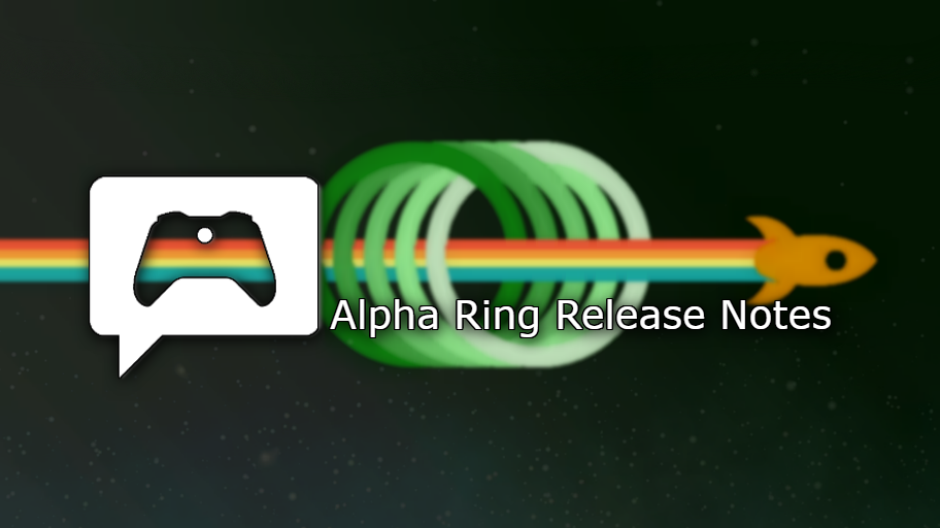 Xbox One Preview Alpha ring 1911 System Update 191007-1945 - Oct. 9  Xbox alpha2.png