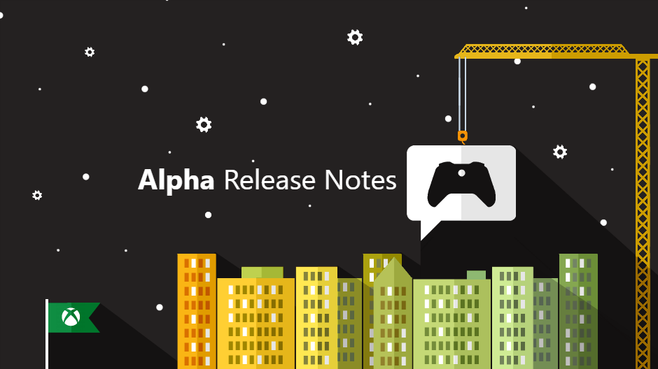 Xbox One Preview Alpha ring 1911 System Update 191007-1945 - Oct. 9  Xbox alphahero.png