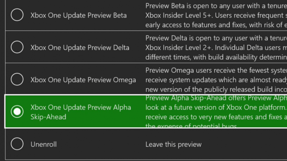 Xbox One Preview Alpha Skip Ahead 2004 Update 191007-2100 - Oct. 9  Xbox AlphaSkipAhead-hero-hero-1-hero-hero.png
