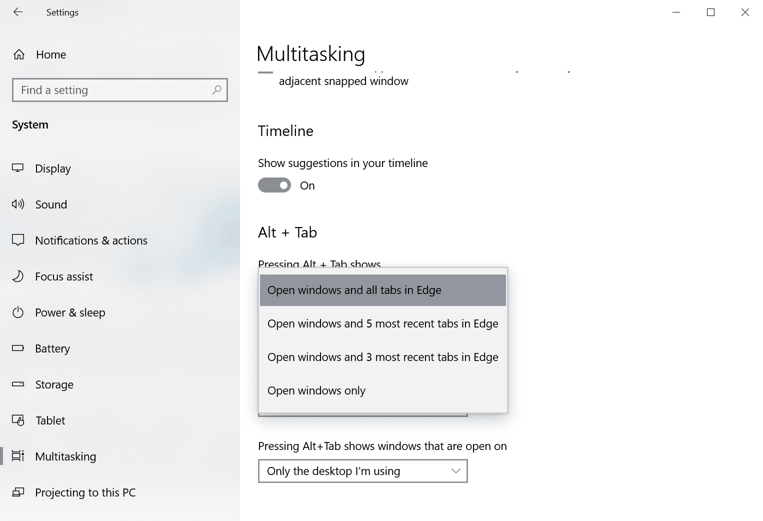 Unlock the features of Windows 10 version 2009 right now alt-tab-edge-tabs.png