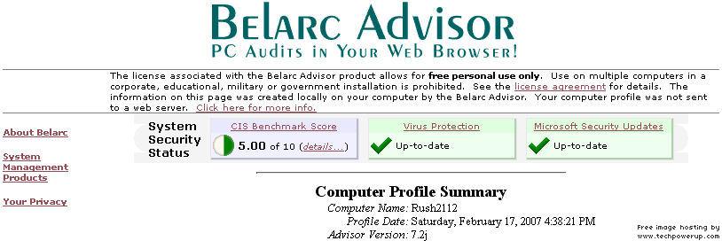 Windows Defender Virus Test Failure APKBelarcAdvisor5of10ScoreBETTERThan417Before.jpg