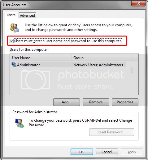 Computer Locking itself Automatically autologin2.png