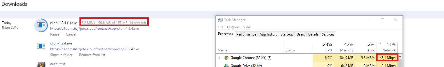 Windows Task Manager Cannot Get Network Usage After Create Network Bridge AWj88.png