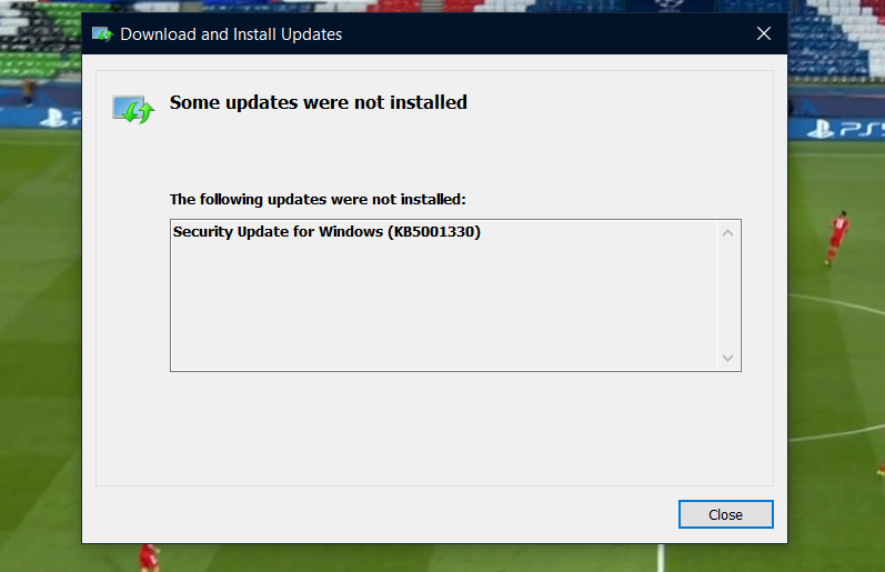 Unable to install 2021-04 Cumulative Update for Windows 10 Version 20H2 for x64-based... b03f452d-694e-471b-bd67-5d7eaed8df26?upload=true.png