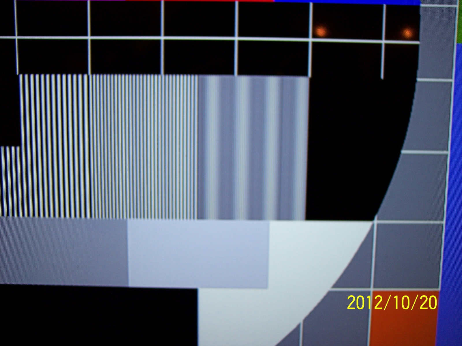 No image on display while cloned with the TV, but with image on TV b49u9i.jpg