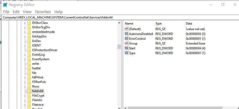 fiddrv64  May be malware b58b1200-c1a3-4698-b3a3-250519ef24e3?upload=true.jpg
