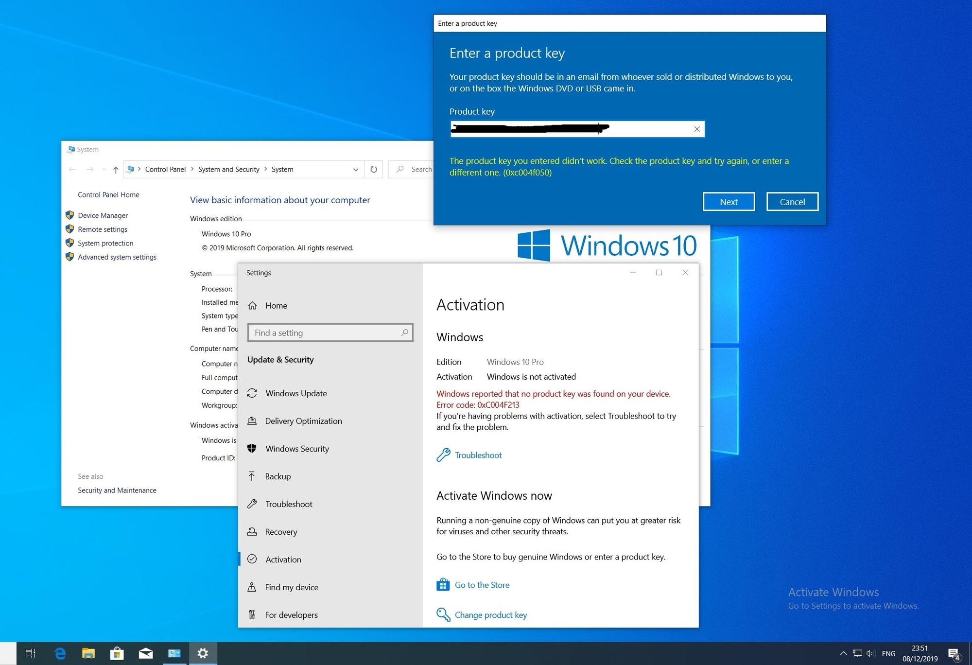 0xc004f050 Windows 10 Pro Activation b8b77a18-d05d-4579-9d17-b4529b31fad2?upload=true.jpg