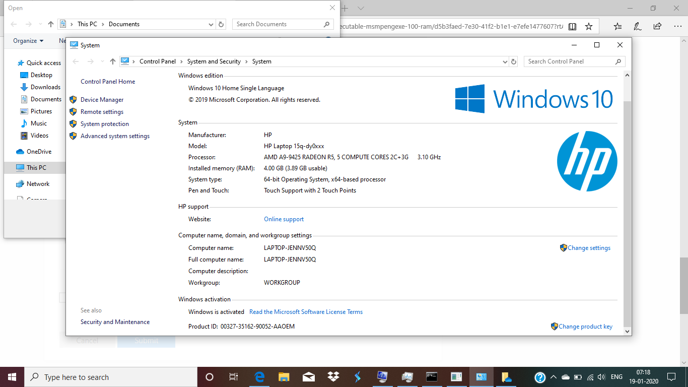Request assistance with Windows 10 Issue. b8d6ed80-1706-4ea1-8391-c7a3b66531c8?upload=true.png