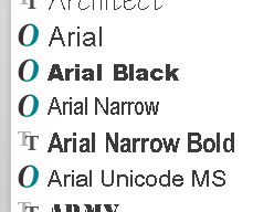 Cannot install Arial Narrow font on Windows 10