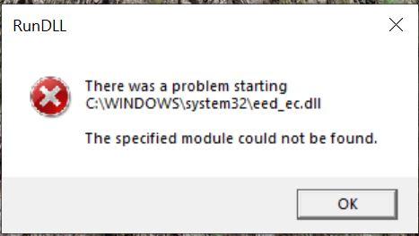 DLL missing after 1903 upgrade. b91f84e7-4d3e-4aaf-90f8-7755e41439b0?upload=true.jpg