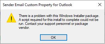 VB.NET Outlook Addin - Windows Installer Custom Action Error on Uninstall b9c7900d-2f81-465f-b2ce-84f3439ba8ce?upload=true.png
