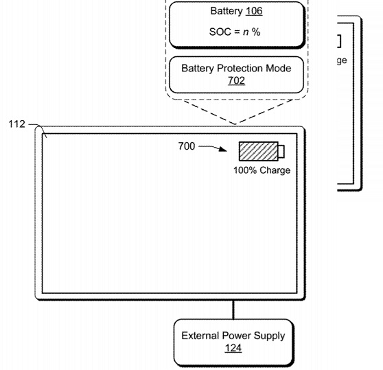 Microsoft's patent details battery protection mode for Windows 10 devices Battery-Protection-Mode-device.jpg
