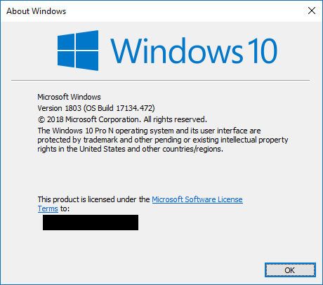 Windows 10 N Media Installation Pack Not Working