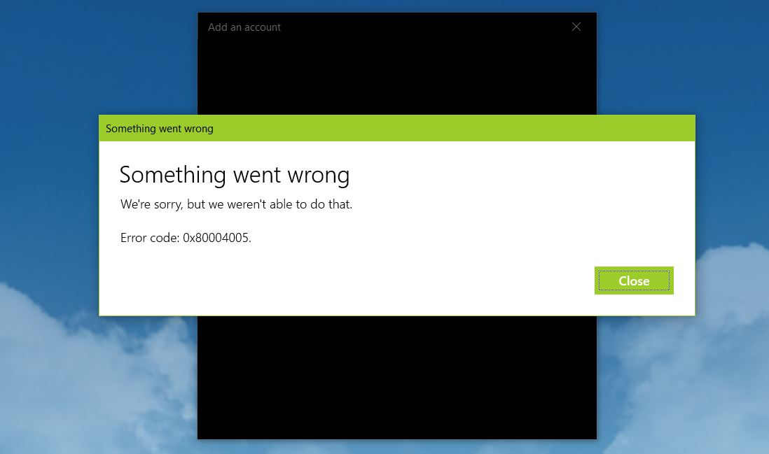 Windows 10 Mail stopped working after 1903 update. bc54bce1-1cf3-4fb4-b090-3df8d514ec9f?upload=true.jpg