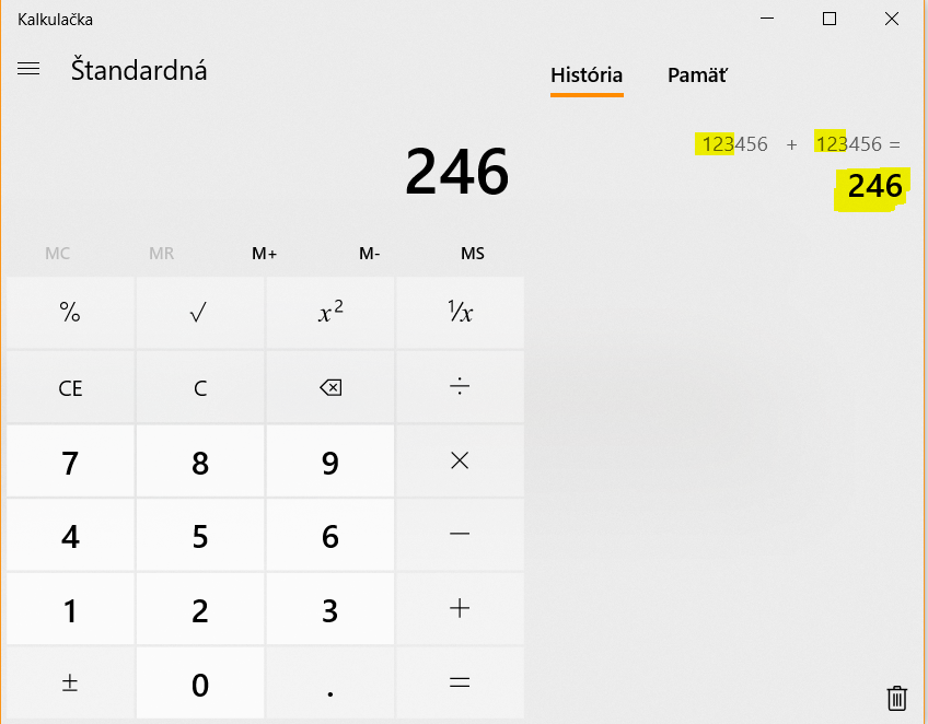 Calculator in Win 10 is showing only first 3 digits bd214dee-9891-4904-b838-4aa8ecc98711?upload=true.png