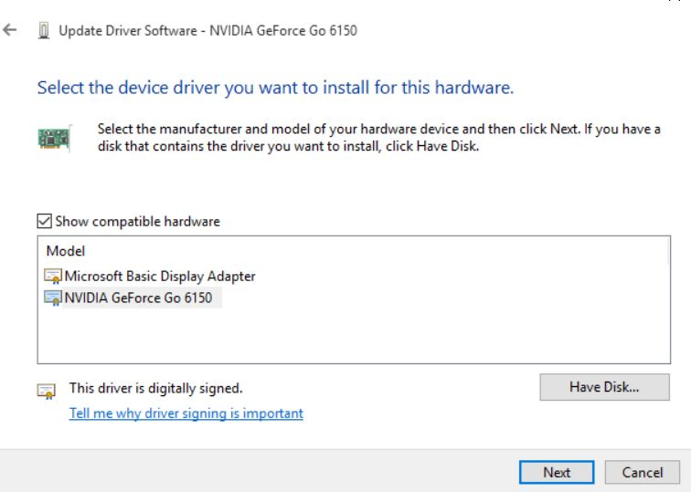 After upgrade to 1809, i can't install the newest driver for my NVIDIA GeForce 630 bed1b3de-9683-4a61-8a8e-f00f3c047f50.jpg