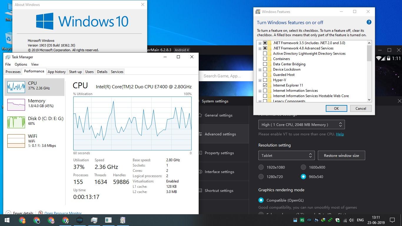 Virtualization Technology Not Detecting Nox Player