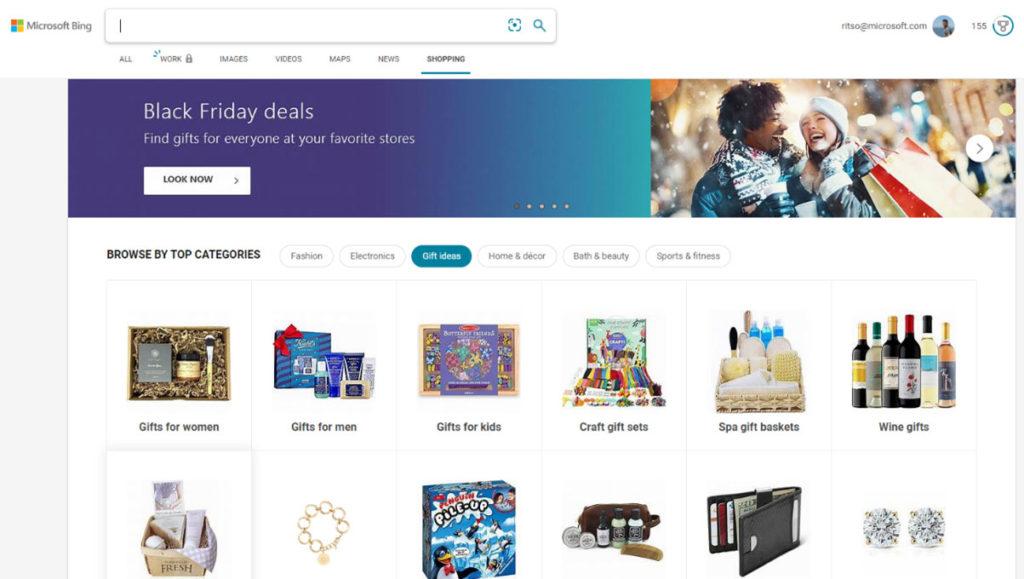 New shopping features for Microsoft Edge and Bing Bing-Shopping-Hub-1024x579.jpg