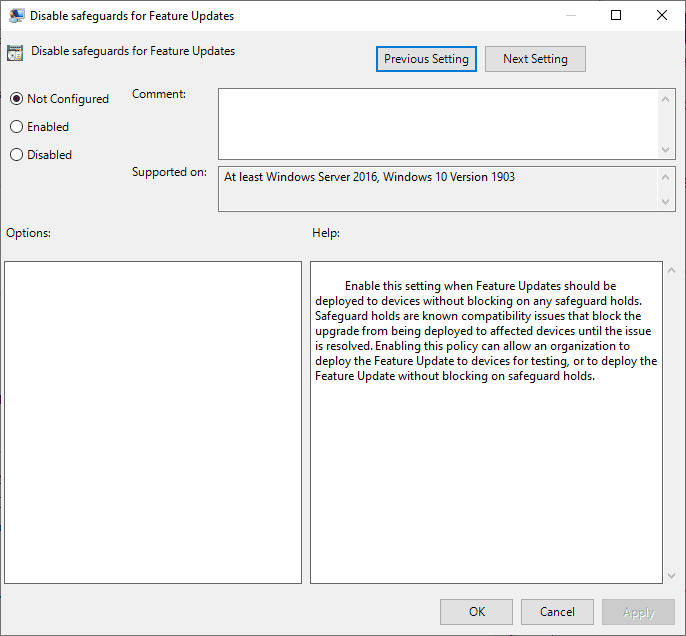 How to bypass Windows 10 Upgrade Blocks (Safeguard holds) bypass-feature-update-blocks.png