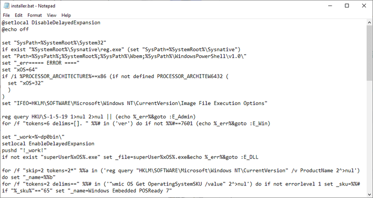 It appears that the Windows 7 ESU Bypass is indeed working bypass-security-updates-checks.png