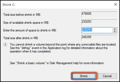 New external HDD partition help needed please - Shrink volume greyed out c04789572.jpg