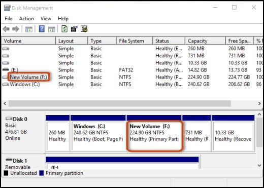 New external HDD partition help needed please - Shrink volume greyed out c04789579.jpg