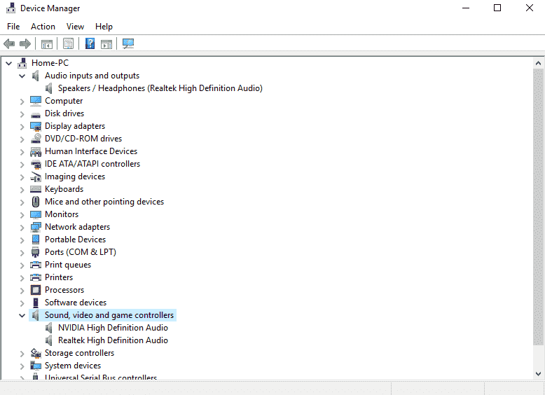 Microphone not working