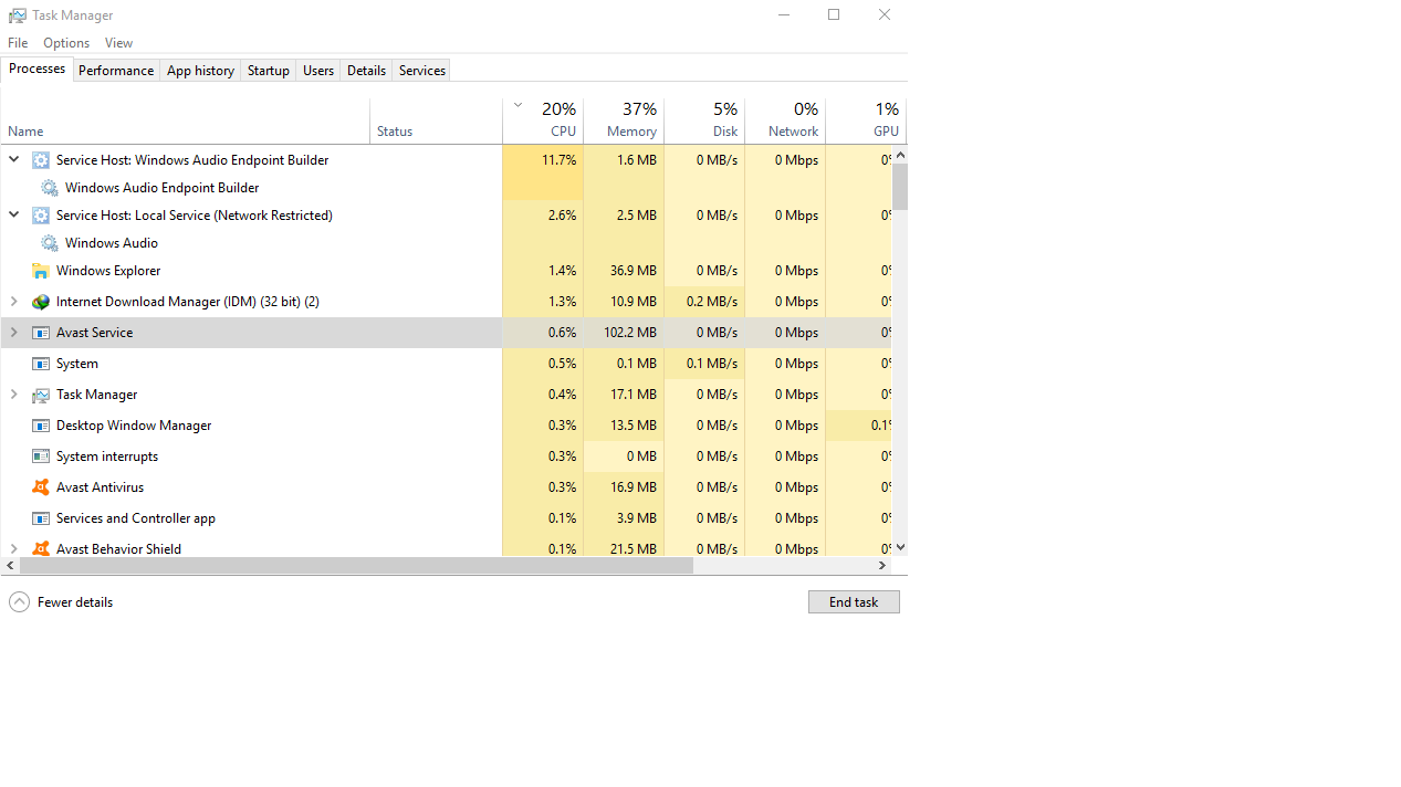 Windows Audio Endpoint builder high cpu. c2663dd6-49ba-421d-af58-494316a8c7a1?upload=true.png