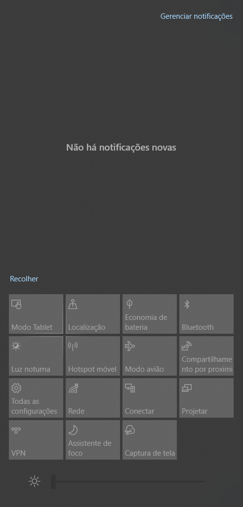Quick Actions on Action Center are not working c2fef59d-fe82-47af-9291-602953b35204?upload=true.png