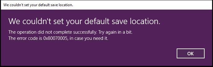 Can't change app save location c35b926a-0125-4552-8786-4cd3b80f774c?upload=true.png