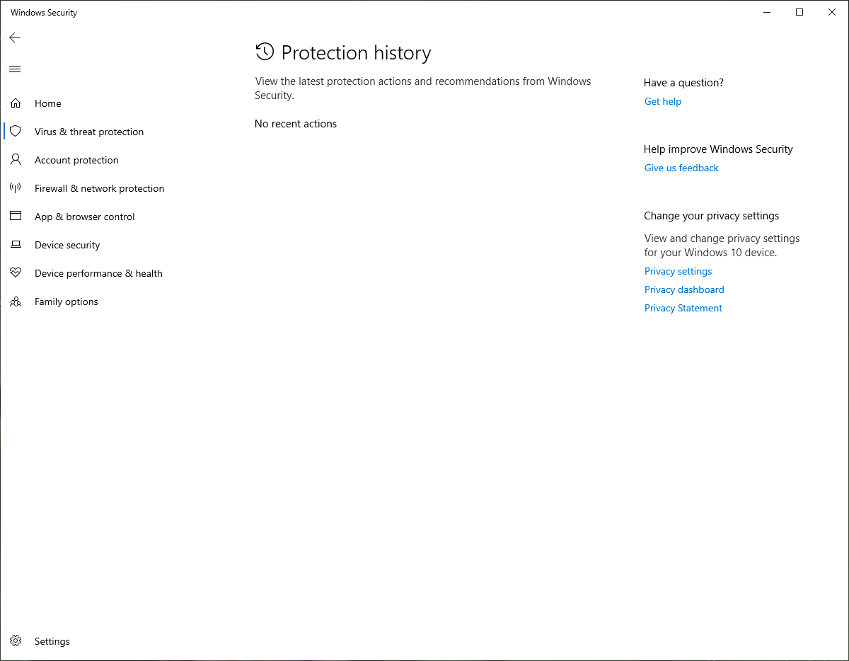 Windows defender protection history is missing c512ee47-eebc-49af-a9aa-4eef2854f433?upload=true.png