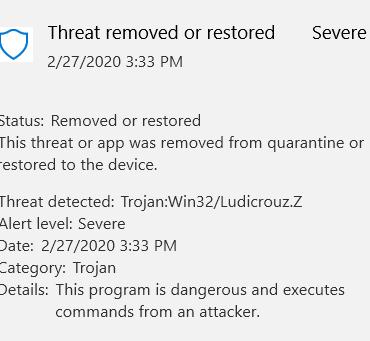 Visual Studio C script detected as Trojan virus c6454c9b-f48b-4afa-806d-19bf2734f43a?upload=true.png
