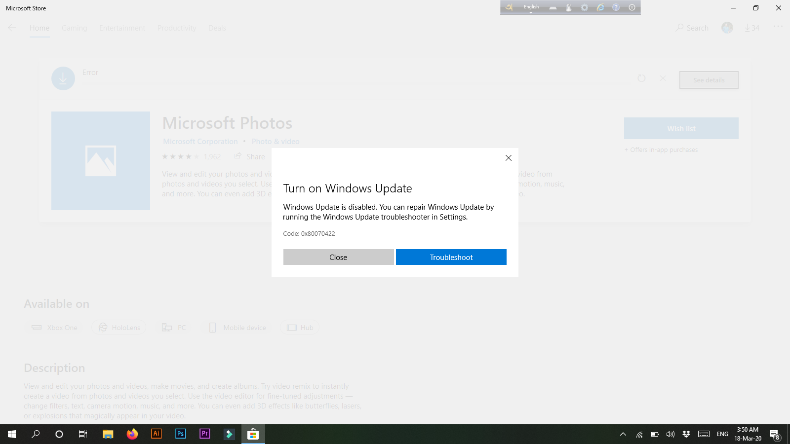 Microsoft Store Apps are not working. c6497f59-2293-4a5f-acda-6d03abbfa60c?upload=true.png