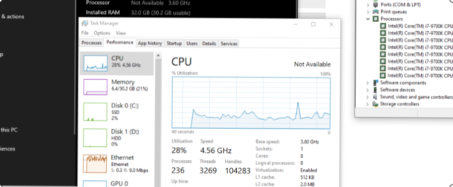 Processor name not showing in System settings. c69680d0-d2a5-40f9-95d0-100d9ca2ef73?upload=true.png