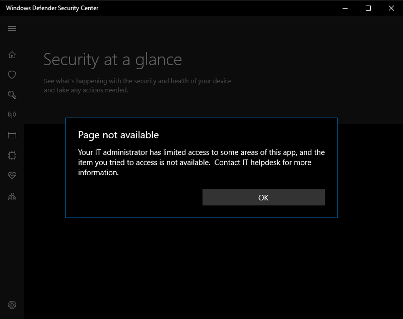 Here I'm getting an issue in windows defender!!! c7709c00-436b-44b8-8f05-596798848a6b?upload=true.png